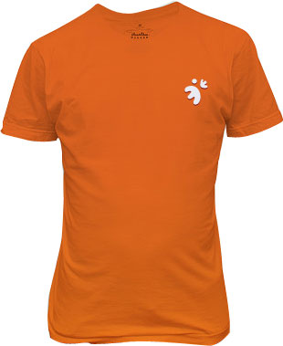 Joobi Tshirt-tshirt_orange